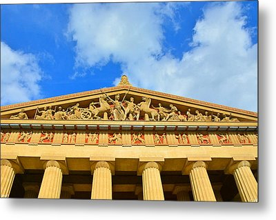 The Parthenon In Nashville Tennessee 2 Metal Print
