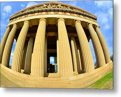 The Parthenon In Nashville Tennessee 3 Metal Print
