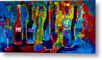 The Party Has Just Begun Metal Print by Lisa Kaiser