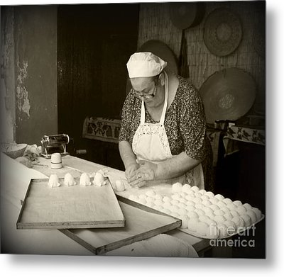 The Pastry Maker, Sardinia Metal Print
