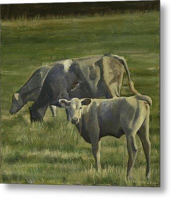The Pasture Metal Print