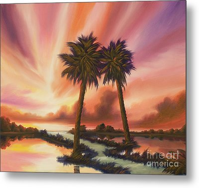 The Path Ahead Metal Print by James Christopher Hill