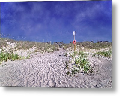 The Path Home Metal Print by Betsy Knapp