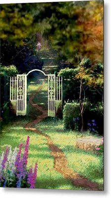 The Path Least Followed Seg 1 Metal Print