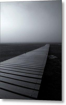 The Path Metal Print by Mike  Dawson