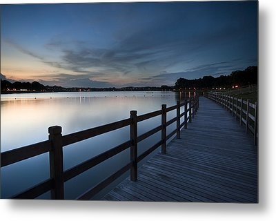 The Path Metal Print by Ng Hock How