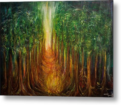 The Path Of Transformation Metal Print by Solveig Katrin