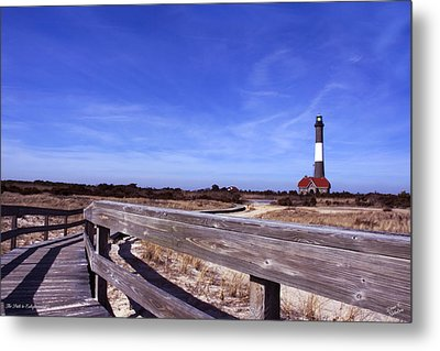 The Path To Enlightenment Metal Print by Diane C Nicholson