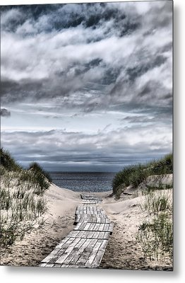 The Path To The Beach Metal Print by Jouko Lehto