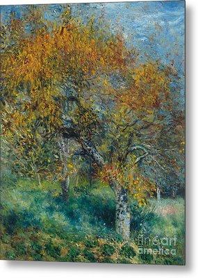 The Pear Tree Metal Print by Pierre Auguste Renoir