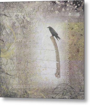 The Perch Metal Print by Nadine Berg