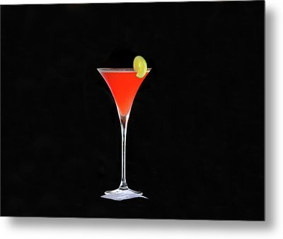 Metal Print featuring the photograph The Perfect Drink by David Lee Thompson