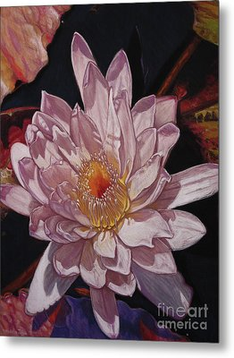 The Perfect Lily Metal Print by Melissa Tobia