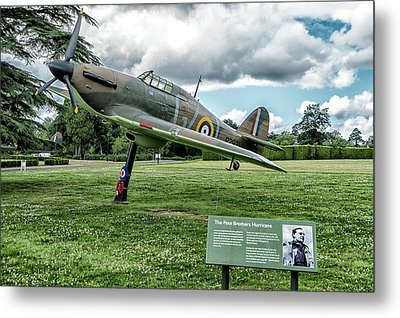 Metal Print featuring the photograph The Pete Brothers Hurricane by Alan Toepfer