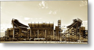 The Philadelphia Eagles - Lincoln Financial Field Metal Print by Bill Cannon