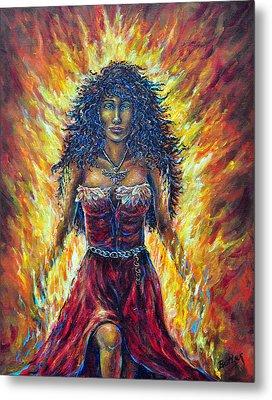 The Phoenix Metal Print by Gail Butler