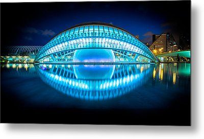 The Photographers Eye, Valencia, Spain Metal Print by Nico Trinkhaus