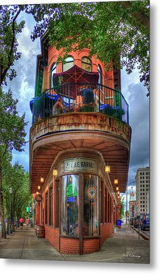 The Pickle Barrel Chattanooga Tn Metal Print by Reid Callaway
