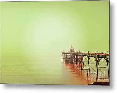 Metal Print featuring the photograph The Pier 2 by Colin and Linda McKie