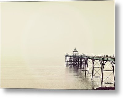 Metal Print featuring the photograph The Pier by Colin and Linda McKie