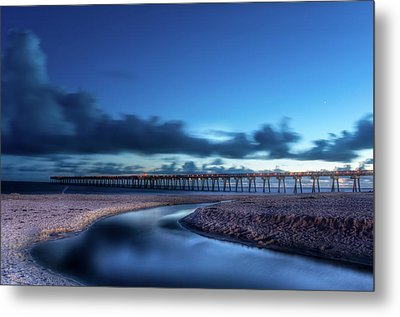 The Pier In Panama Metal Print