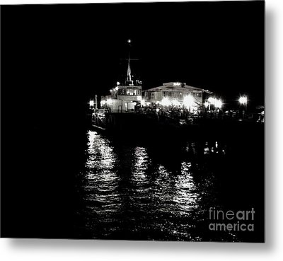 Metal Print featuring the photograph The Pier by Vanessa Palomino