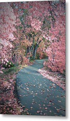 The Pink Corridor Metal Print by Tara Turner
