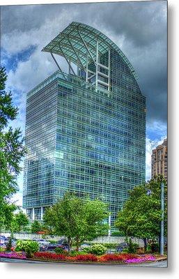 The Pinnacle Reflections Office Buildings Buckhead Atlanta Art Metal Print