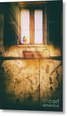 Metal Print featuring the photograph The Pinwheel by Silvia Ganora