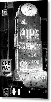 The Pipe Corner Metal Print