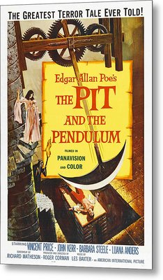 The Pit And The Pendulum, 1961 Metal Print by Everett