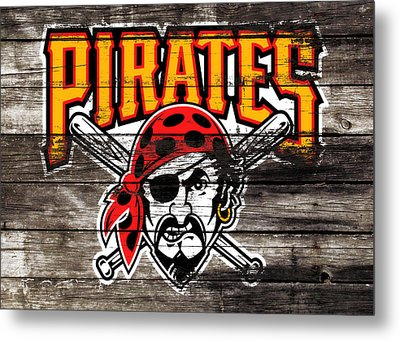 The Pittsburgh Pirates 1c Metal Print by Brian Reaves