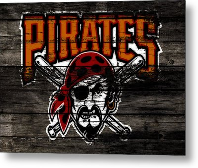 The Pittsburgh Pirates 1d	 Metal Print by Brian Reaves