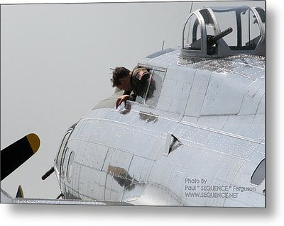 The Plane 2 Metal Print by Paul SEQUENCE Ferguson             sequence dot net