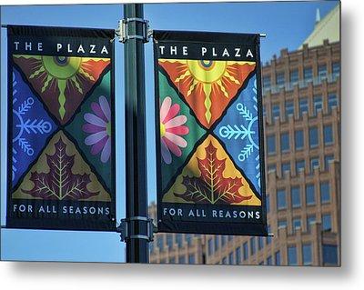 The Plaza Metal Print