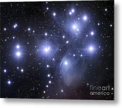 The Pleiades Metal Print by Robert Gendler