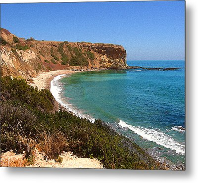 The Point At Abalone Cove Metal Print