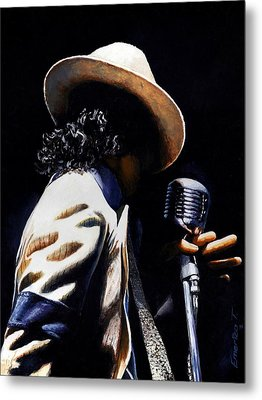 The Pop King Metal Print by Emerico Imre Toth