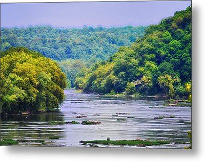 The Potomac Metal Print by Bill Cannon