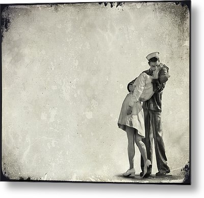 The Power Of A Kiss Metal Print