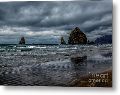 The Power Of The Sea Metal Print by Jon Burch Photography