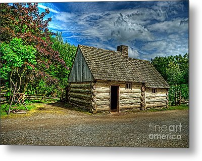 The Prairie House Metal Print by Kim Shatwell-Irishphotographer