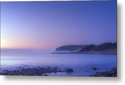 The Predawn Mist Metal Print