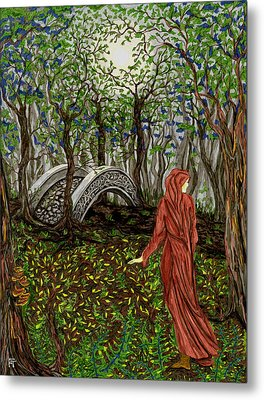 The Priestess Of Ealon Metal Print by FT McKinstry