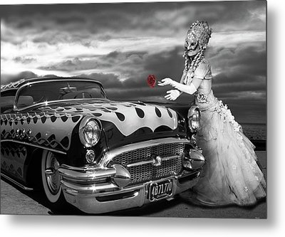 The Prince Of The Highway Metal Print by Larry Butterworth