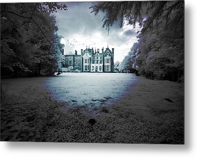 Metal Print featuring the photograph The Priory  by Keith Elliott