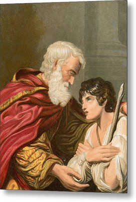 The Prodigal Son Metal Print by Lionello Spada