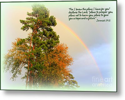 The Promises Of God Metal Print by Kathy  White