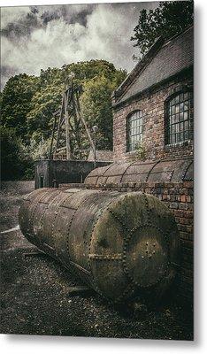 The Pumping House Metal Print