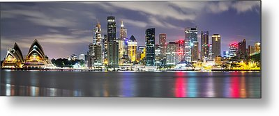 The Quay Metal Print